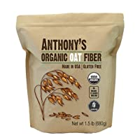 Anthony's Organic Oat Fiber, 1.5 lb, Gluten Free, Non GMO, Keto Friendly, Product...