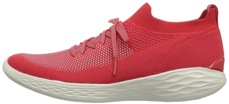 Skechers Women's You-Shine Sneaker B071K7PF8D 7 B(M) US|Red