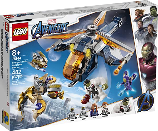 LEGO Super Heroes Marvel Avengers Hulk Helicopter Rescue