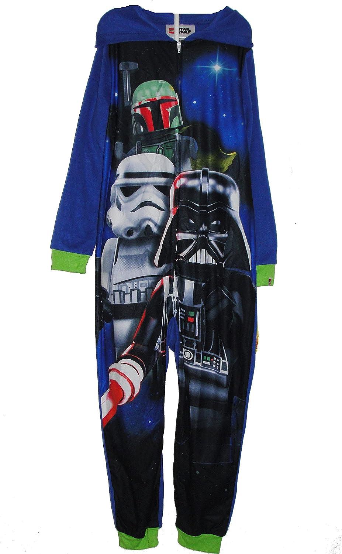 LEGO STAR WARS Boy's Fleece Hooded Blanket Pajama Sleeper