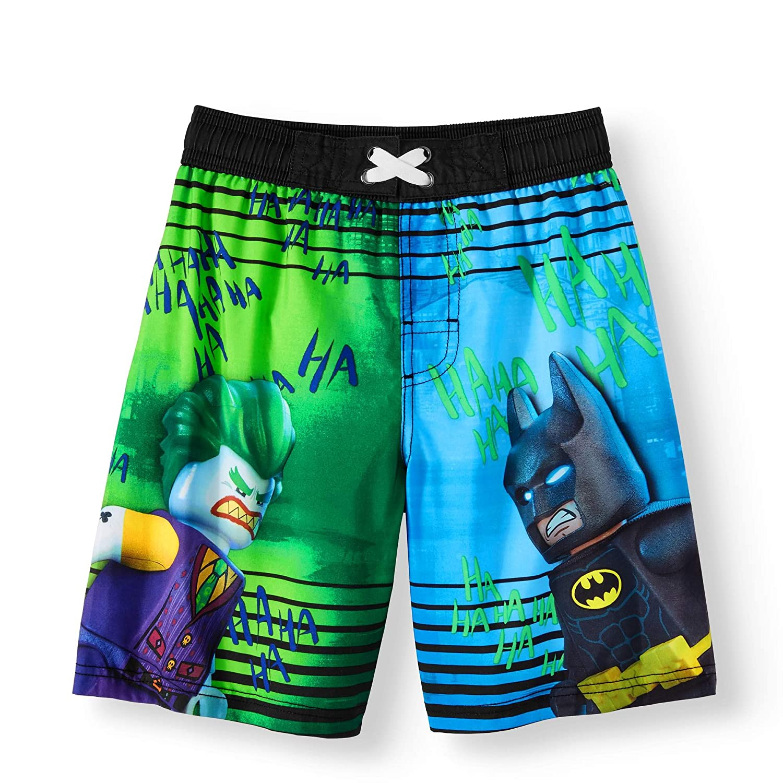 7554915928 Amazon.com: LEGO DC Comics Batman and Joker Boys Boardshort Swim Trunks  Black: Clothing