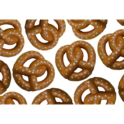Curious Minds Busy Bags 12 Pretzel Stress Balls - Snack Food Stress Reliever for Classroom or Office: Toys & Games