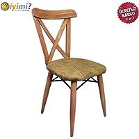 İyimi Masif Ahşap Ayaklı Tonet Masa Sandalyesi Cafe Ev Ofis