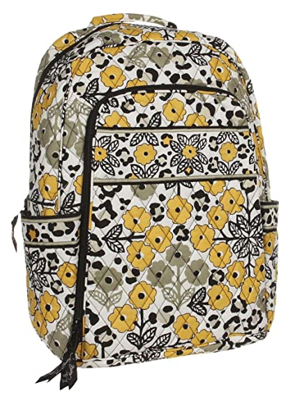 fce379bef6 Amazon.com  Vera Bradley Laptop Backpack (Go Wild)  Electronics