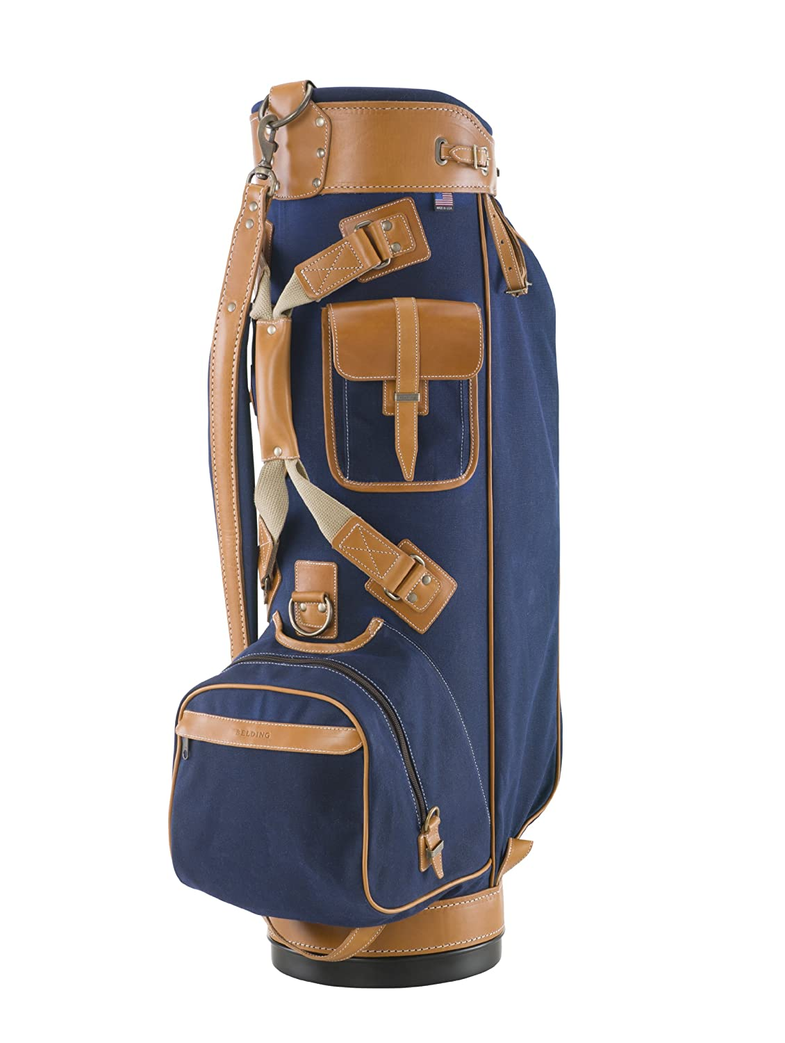 BELDING American Collection Bushwhacker Golf Bag, 9.5-Inch, Navy