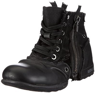Clutch, Herren Biker Boots, Schwarz (BLACK 3), 42 EU Replay