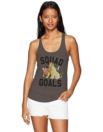 8d35b277d52 Disney Women s Lion King Squad Goals Ideal Racerback Graphic Tank Top
