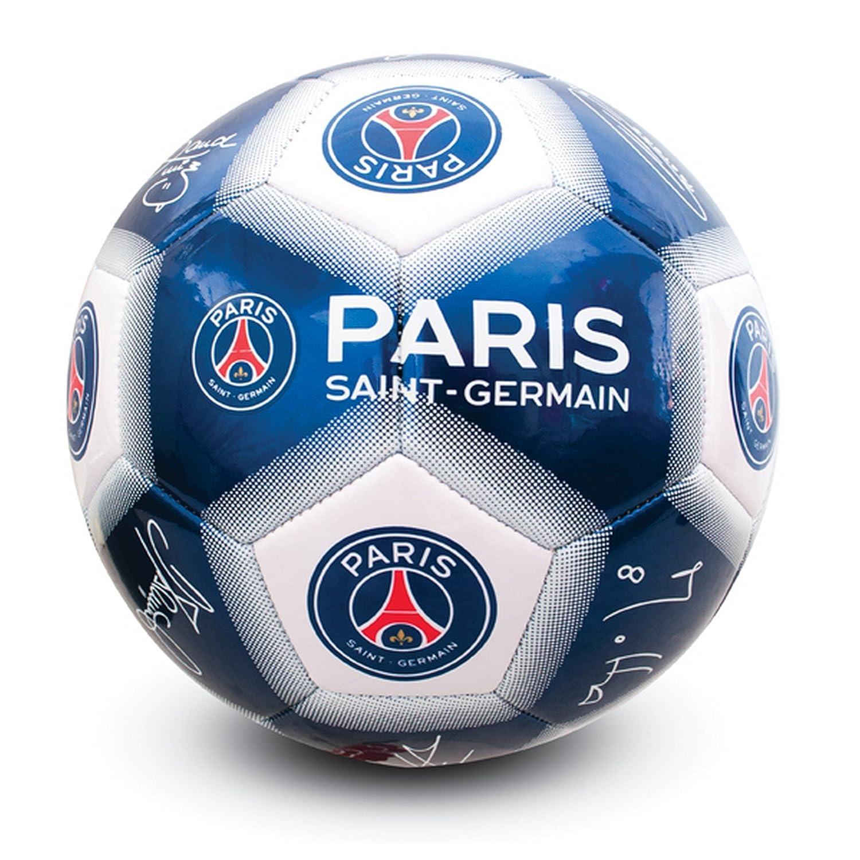Paris Saint Germain FC Official - Balón de fútbol con firmas (talla 5)  UTSG10801 1 1b066c2ddef34