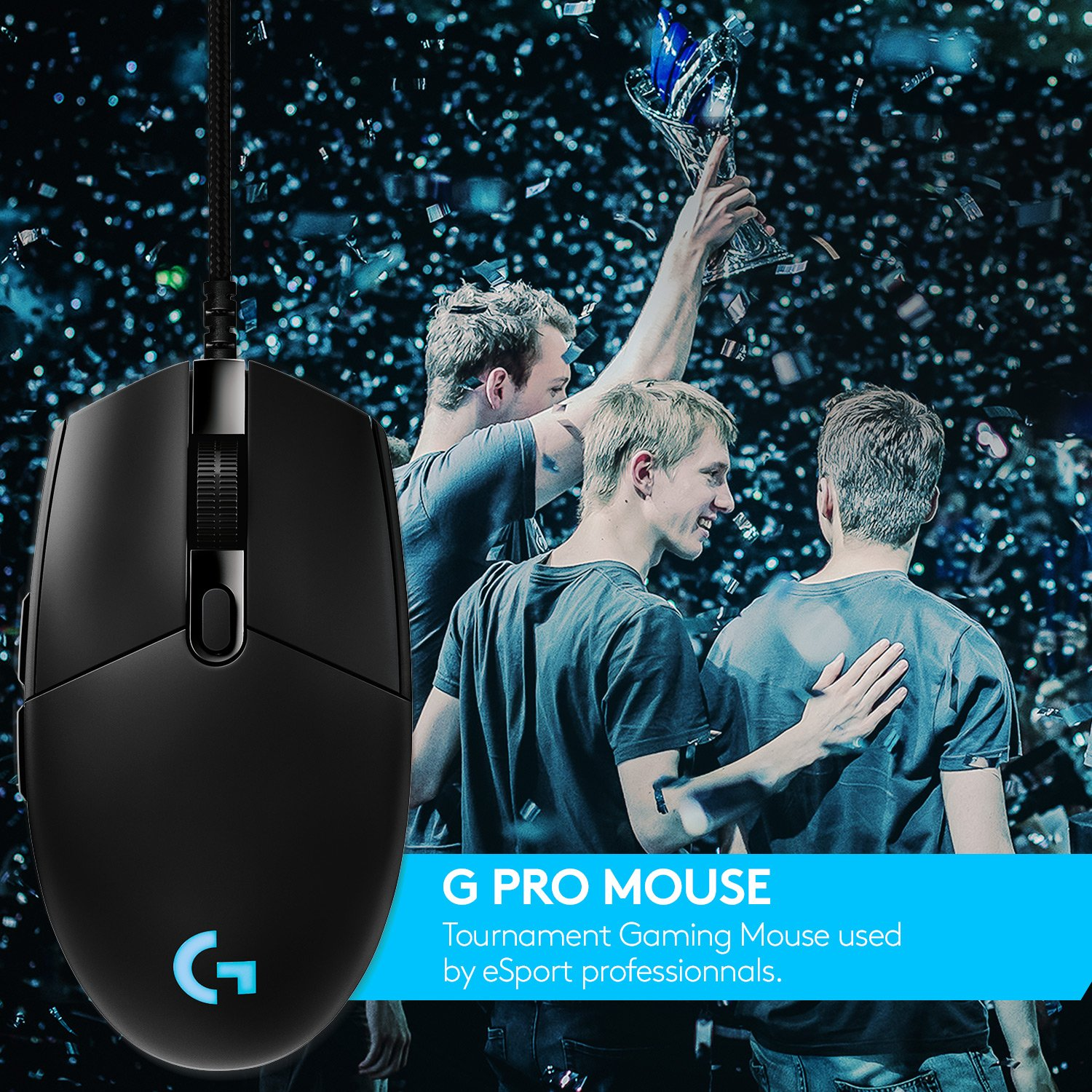 Logitech G Pro Gaming Mouse, Tournament Edition Used by Esport ...