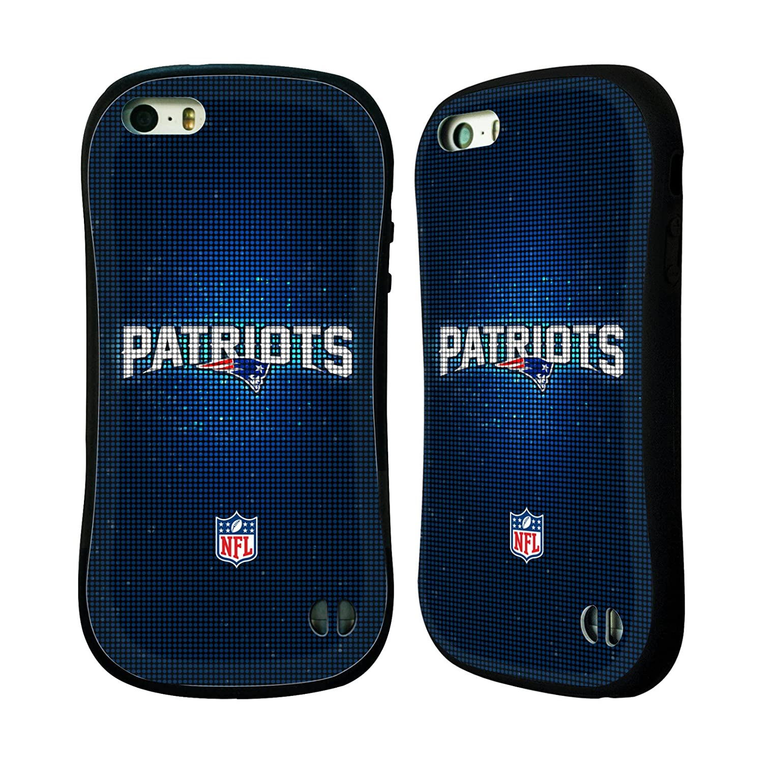 Official NFL LED 2017/18 New England Patriots Hybrid Case for Apple iPhone 5 / 5s / SE