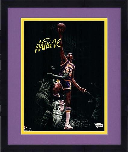 e3ac273bae7 Framed Magic Johnson Los Angeles Lakers Autographed 11 quot  x 14 quot   Spotlight Photograph - Fanatics