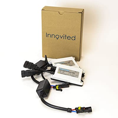 Innovited 2pcs 55w Ac HID Slim Digital Ballast for H1 H3 H4 H7 H10 H11 9005 9006 D2r D2s Universal Fit: Automotive