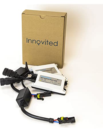 Innovited 2pcs 55w Ac HID Slim Digital Ballast for H1 H3 H4 H7 H10 H11 9005