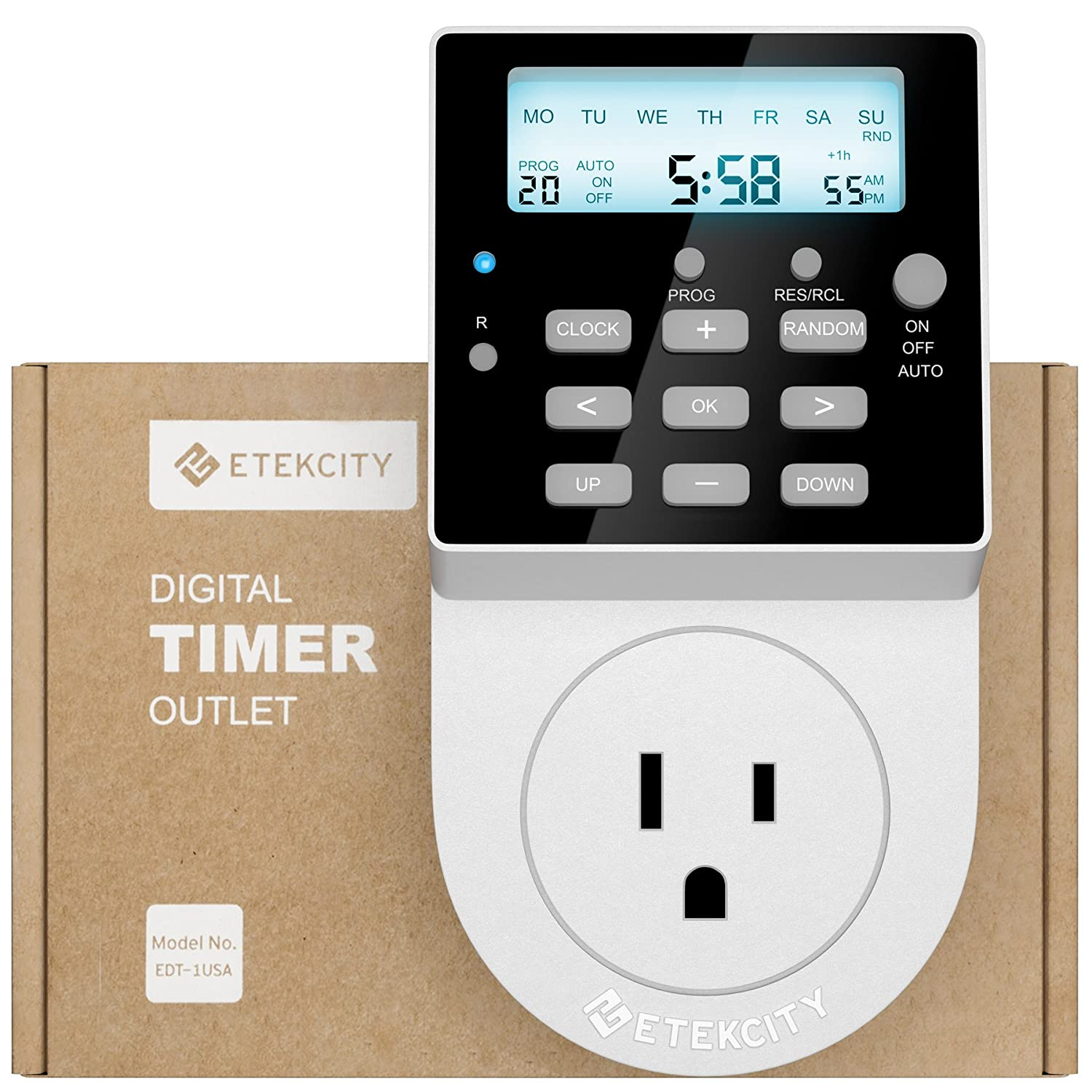 Etekcity Light Timer Outlet - $13.99 (Reg. $29.99)