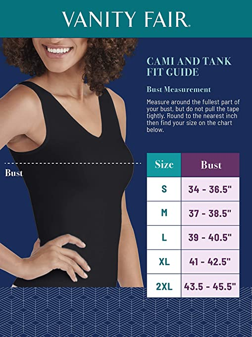Vanity Fair Womens Perfect Lace Spin Cami #17166: Amazon.es: Ropa ...