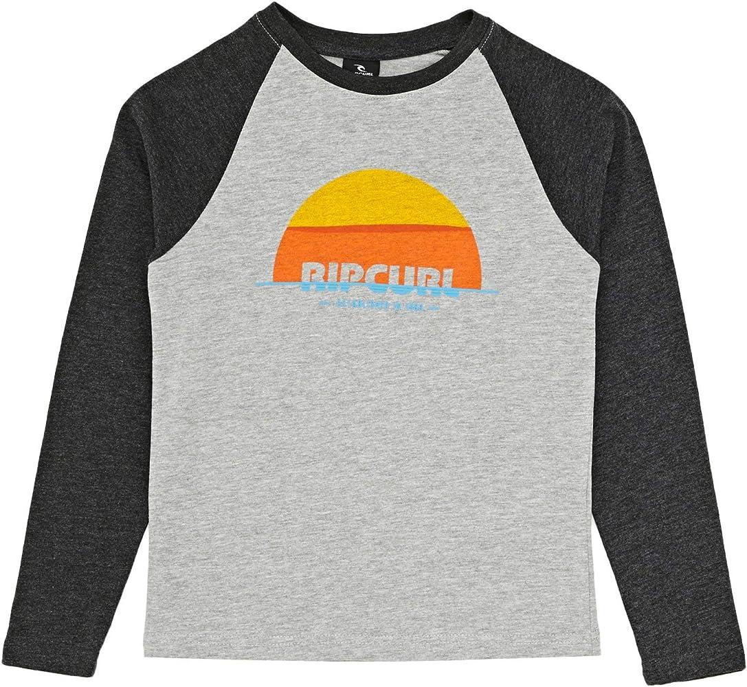 Rip Curl - Camiseta de Manga Larga para Hombre, diseño de Media Luna: Amazon.es: Ropa y accesorios