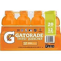 Deals on Gatorade Original Thirst Quencher Orange 20 oz, 12 Count