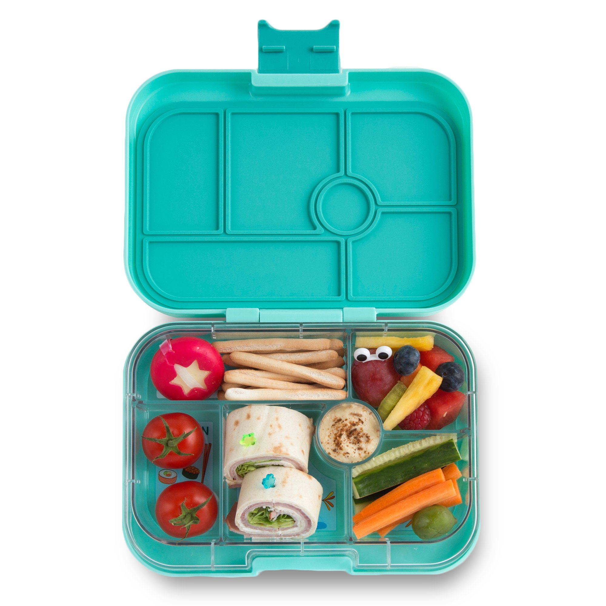 YUMBOX Original (Surf Green) Leakproof Bento Lunch Box Container for Kids
