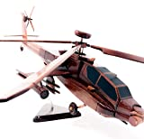 Apache Replica Helicopter Model Hand Crafted with
