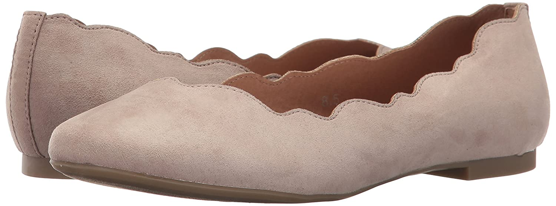 Athena Alexander Women's Tallye Ballet Flat B06XT8BKHQ 8.5 UK/8.5 M US|Taupe Suede