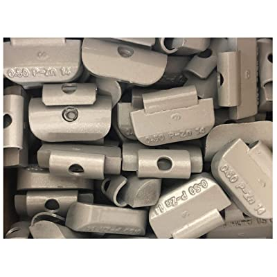 Hornet Zinc Clip On Wheel Weights (50 Pack) (.50oz) P Type: Automotive