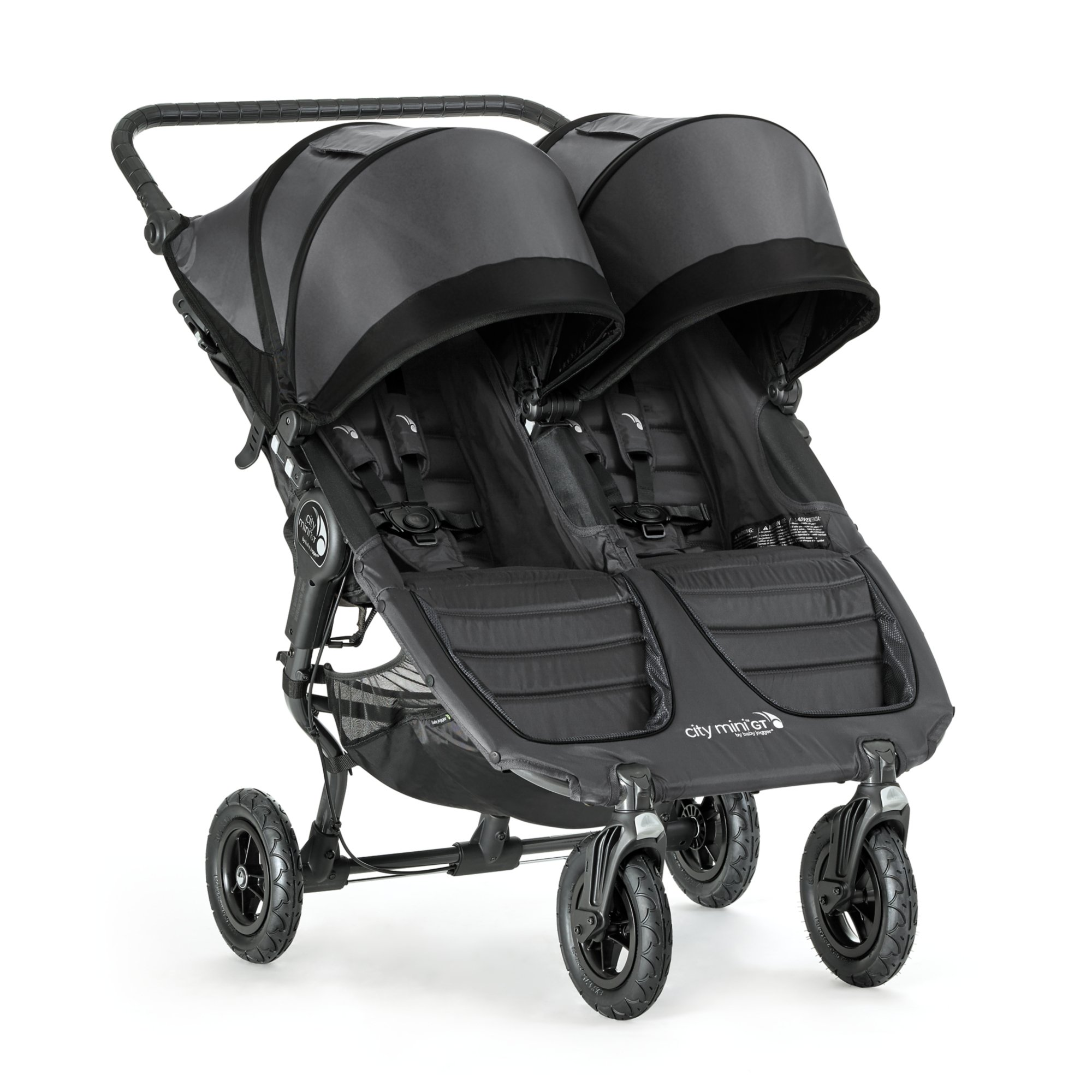 Baby Jogger City Mini GT Double Stroller, Shadow/Black