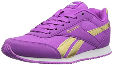 2a156ece3e4b3c Reebok Baby Royal Cljog 2RS Sneaker Vicious Violet Gold 1.5 Child US Toddler