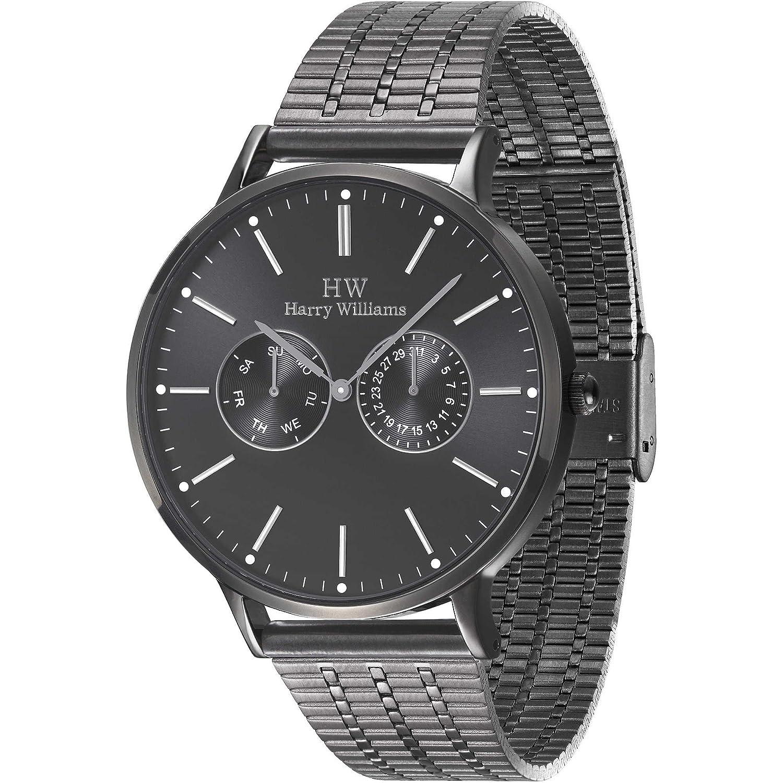 Multifunktions-Armbanduhr Herren Harry Williams Sportliche Cod. hw-2402j-07 M