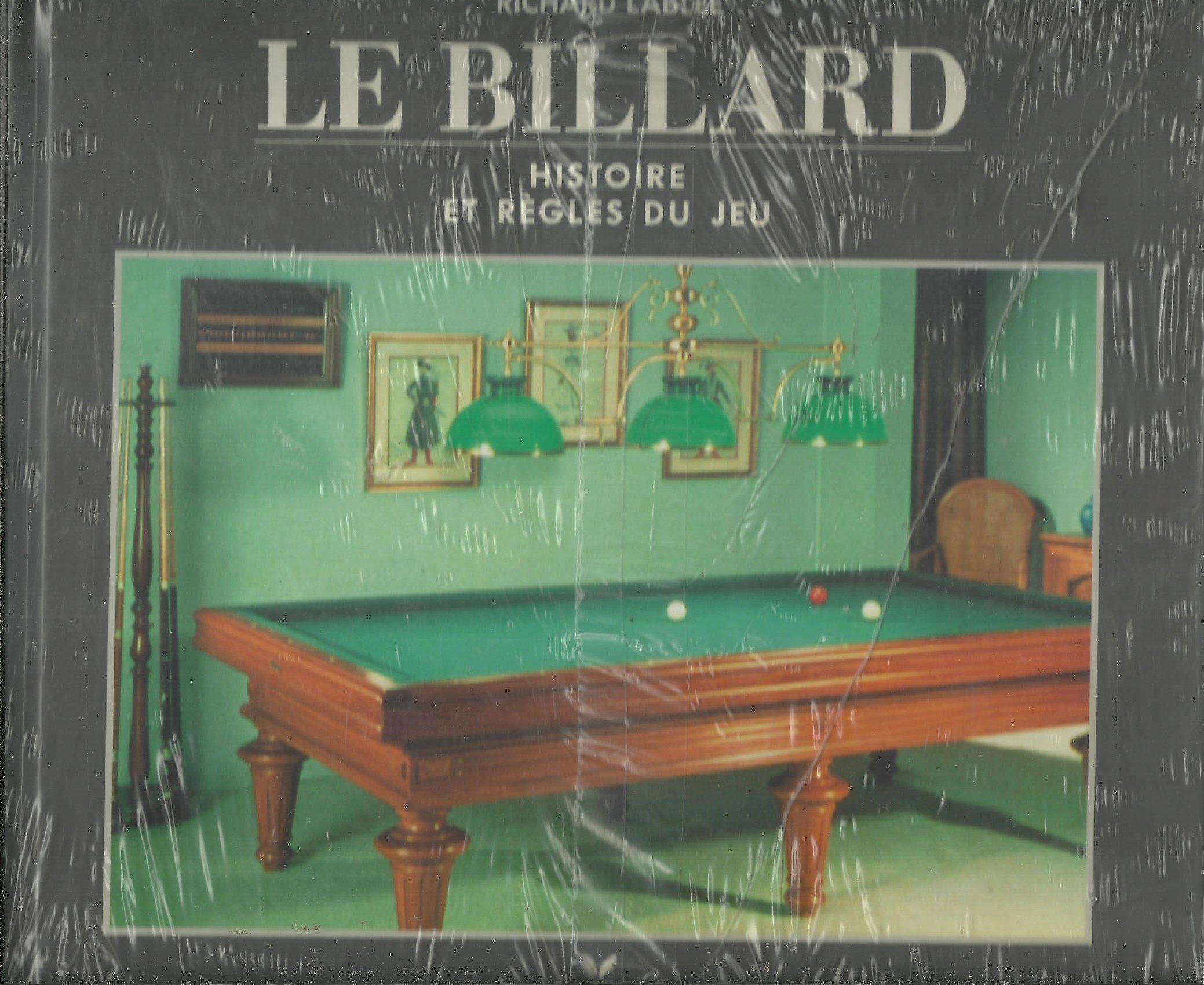 Le billard histoire et regles du jeu 120597 Cartonné – 20 novembre 1997 Hatier 2218022109