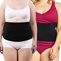 Everyday Medical Plus Size Post Surgery Abdominal Binder l Bariatric Stomach Wrap l Hernia Support for Women and Men l Obesity Girdle great for Liposuction, Postpartum, C-section, Hernia-Size Wide 2XL