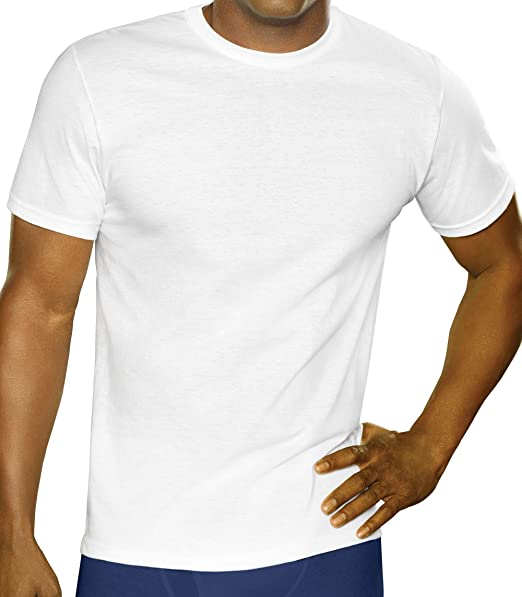 46ddf493d37177 Fruit of the Loom Men s Crewneck Tee (Pack of 3) at Amazon Men s Clothing  store  Undershirts