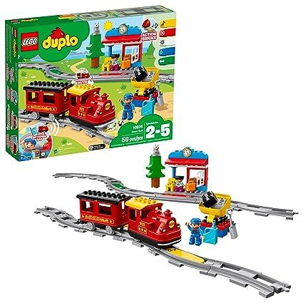 Amazoncom Lego Duplo Steam Train 10874 Remote Control Building