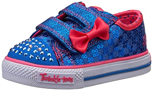 Skechers Shuffles Sweet Steps Zapatillas de lona niña: .es