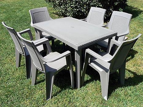 Set Tavolo Sedie Giardino Plastica.Sedie In Plastica Impilabili Da Giardino Tavoli E Sedie Da Giardino