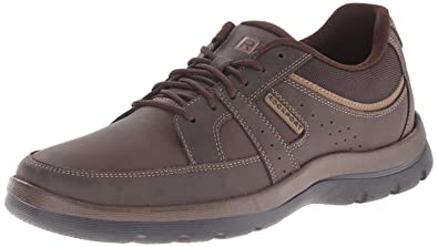 på fötter skott av olika stilar Utgivningsdatum Rockport Men's Get Your Kicks Blucher Brown Sneaker 12 M (D ...