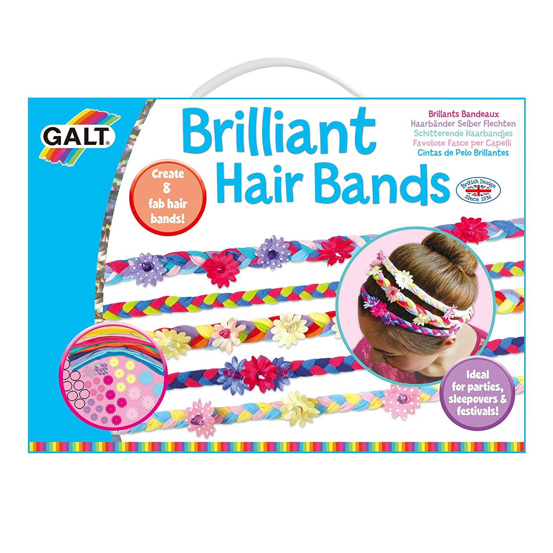 30b986dcb505e7 Galt 1004309 - Haarbänder selber flechten, Kinder-Bastelset: Amazon.de:  Spielzeug