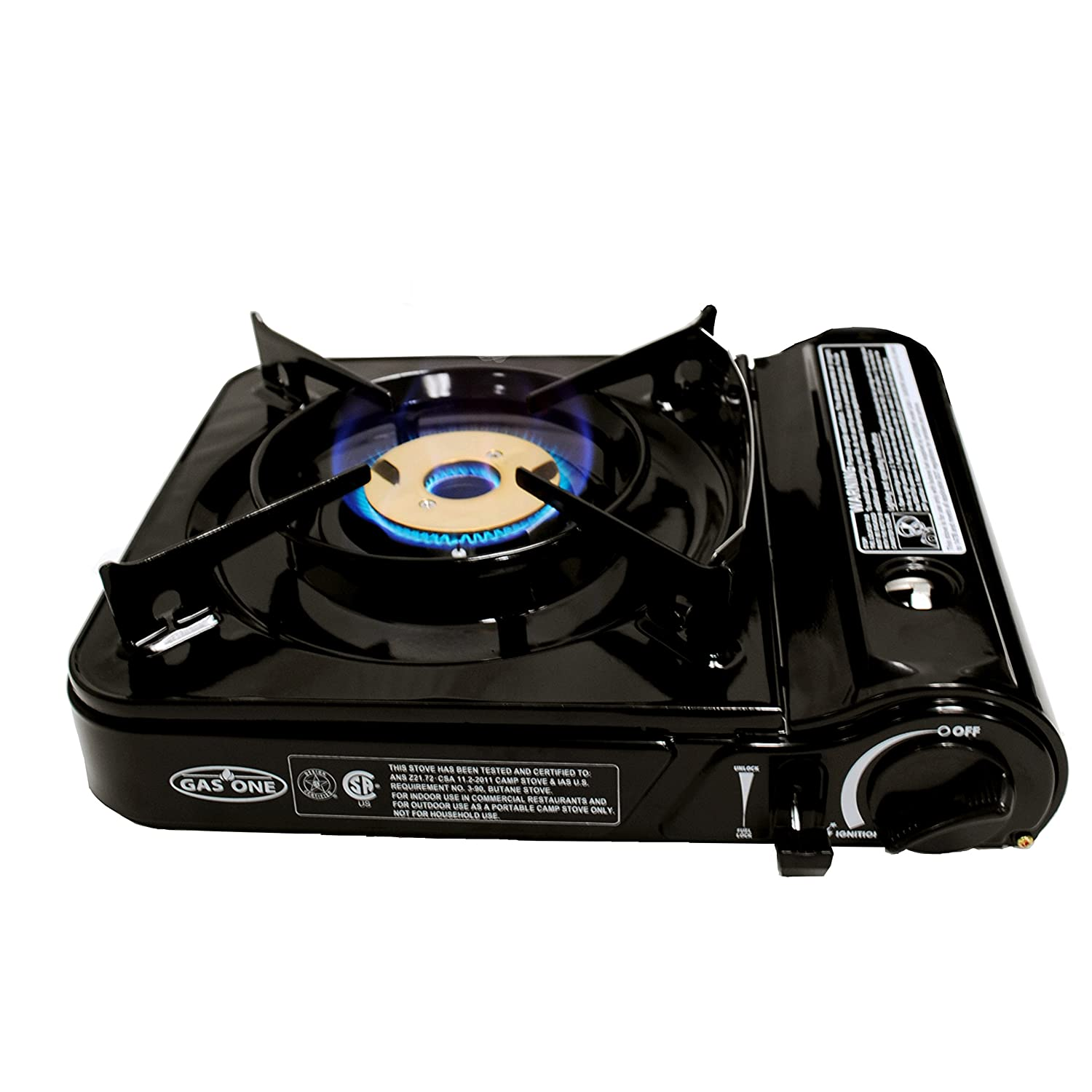 Amazon.com : GAS ONE GS-3000 Portable Gas Stove with Carrying Case ...