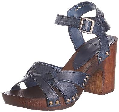 cefdfab3a4d Carvela Women s Krumble Blue Ankle Strap 1921480109 5 UK  Amazon.co ...
