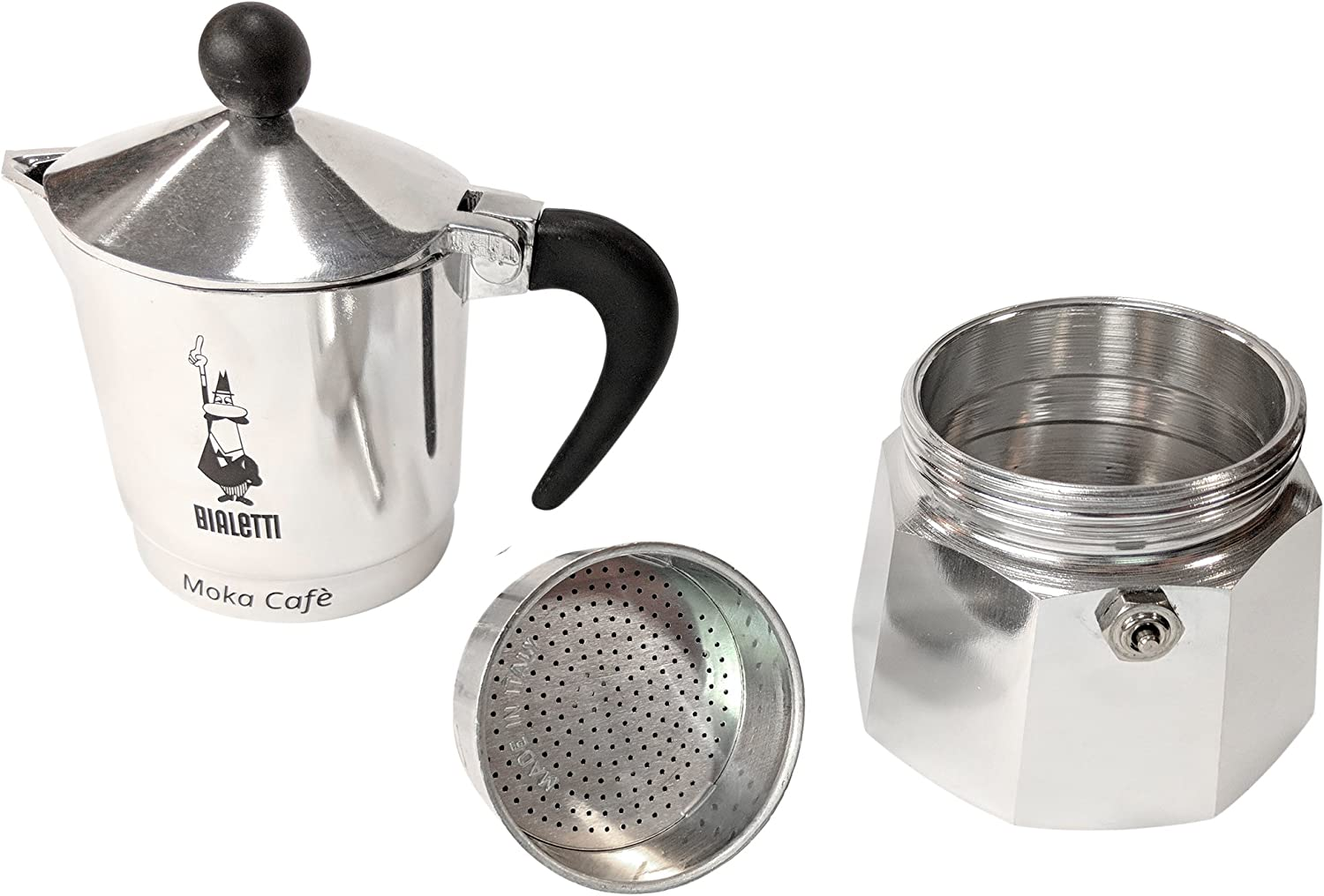 Amazon.com: Bialetti 5923 Break universal cafetera de ...