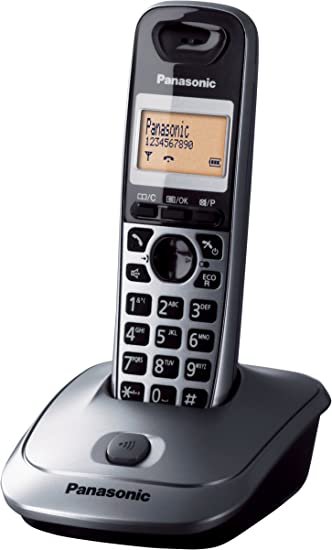 Panasonic KX-TG2511, handset, Digital, 50 entradas, 3.81 cm (1.5