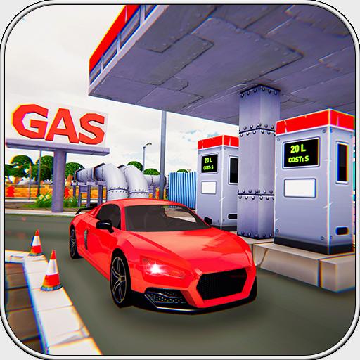 Car Wash Gas Station 2018 3d - Shop Road
