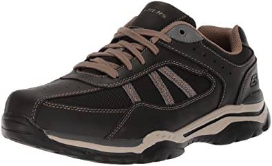 Skechers USA Men's Men's Relaxed Fit-Rovato-Soloven Oxford,7 M ...