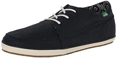 Sanuk Mens Cassius Fashion Sneaker Navy