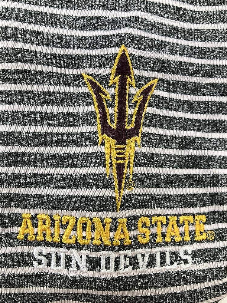 Champion Mens Arizona State University Polo Striped Staduim Stripe Polo