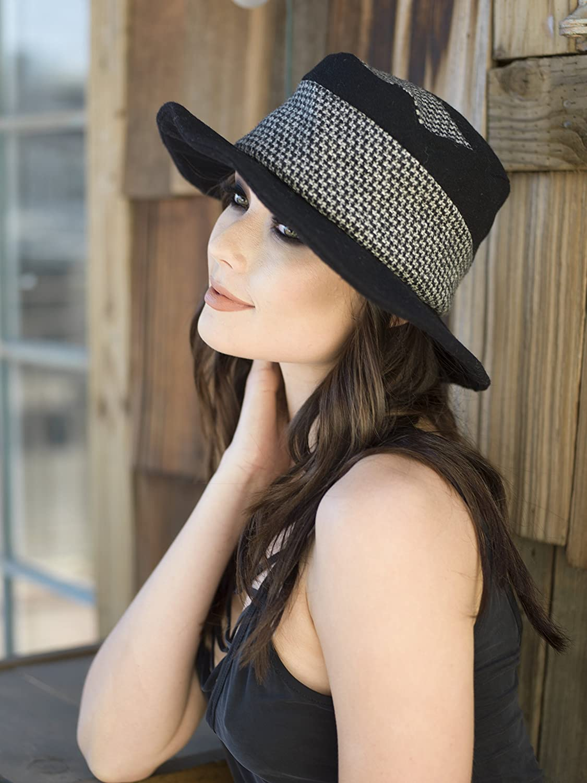 Wool Black Bucket Hat