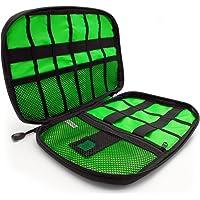 CampTeck U6748 Bolsa Organizador Cables Estuche de Viaje para Accesorios Electrónicos para Cargadores, Tarjetas de…