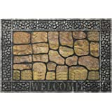 """Downshifting Entrance Door Mat Large 24""""x36"""" Front Door Mat Outdoor Door mat Outdoor Entrance Heavy Duty Welcome Mat, Non Sli"""