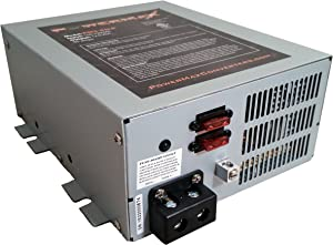 Powermax PM4 55A 110V AC to 12V DC 55 Amp Power Converter with Built-in 4 Stage Smart Battery Charger