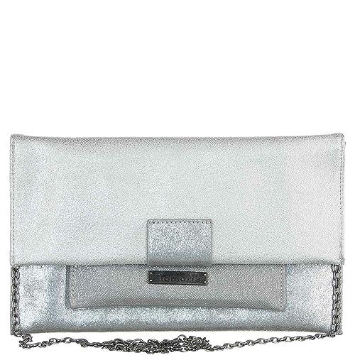 Tamaris Cartera de mano de Sintético para mujer Plateado plata, color Plateado, talla 1