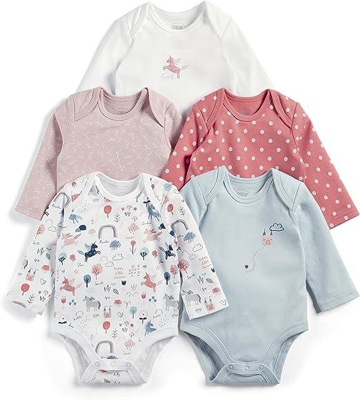Mamas /& Papas Baby Girls Bodysuit
